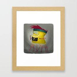 Halloween Runner Framed Art Print