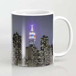 Empire State, red white and blue Coffee Mug