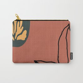American Desert Southwest Floral Abstract Carry-All Pouch