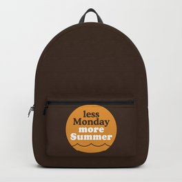 Less Monday More Summer Backpack