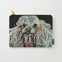 Toy Poodle portrait Carry-All Pouch