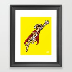 Super Ocelot Framed Art Print