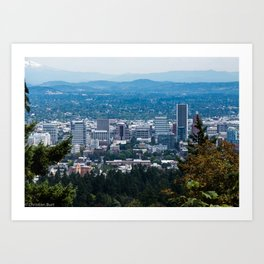 Portland, Oregon Art Print