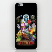 lemongrab iPhone & iPod Skins featuring Zelda Time! by Yiji