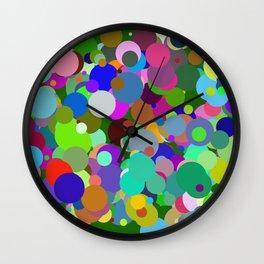 Circles #9  - 03142017 Wall Clock