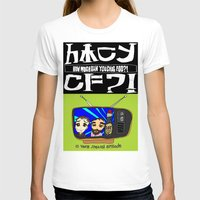 cowboy bebop T-shirts featuring Don't Chug Soy Sauce - Chuggalo Bebop by How Much Can You Chug Foo?!
