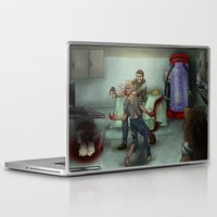 last of us Laptop & iPad Skins featuring The Last of Us by Luis Lara