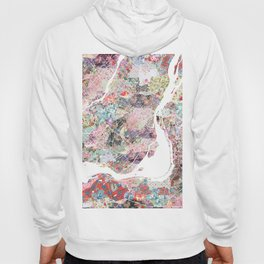 Montreal map canada Hoody