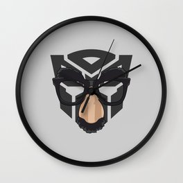 Robot In Disguise Wall Clock
