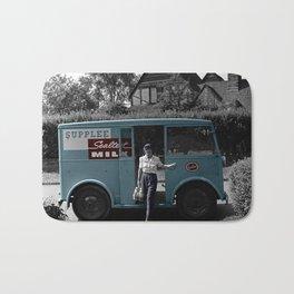 Vintage Sealtest Milk Truck Bath Mat
