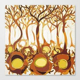 Neuronal Forest Canvas Print