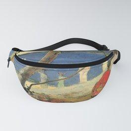 "Paul Gauguin - Porteuses de fruits à l'anse Turin ""Bord de mer II"" (1887) Fanny Pack"