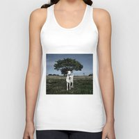 goat Tank Tops featuring Goat by Ana Francisconi