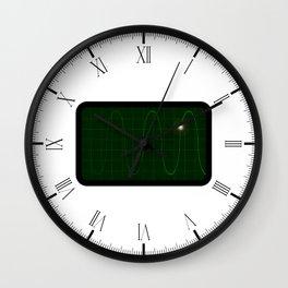 Oscilloscope Wall Clock