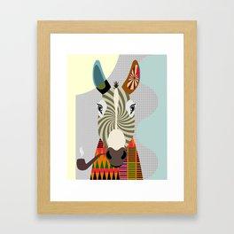 Ass Donkey Framed Art Print