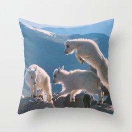Kids by Lena Owens/OLena Art Throw Pillow