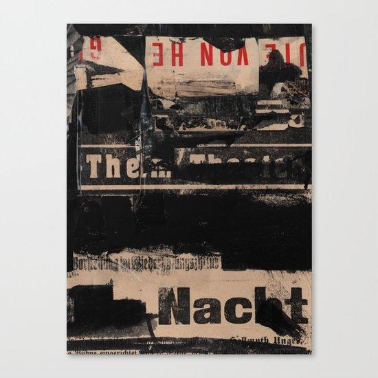The Nacht Canvas Print