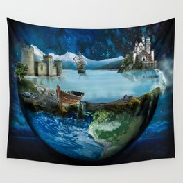 My World Wall Tapestry