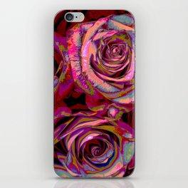 Extreme Roses iPhone Skin