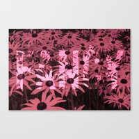 fancy Canvas Prints featuring Fancy by Paxton Keating