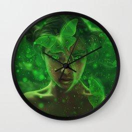 Luna Fairy Wall Clock