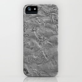 we all leave our mark. iPhone Case
