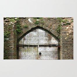 Caerphilly Castle Gate Rug