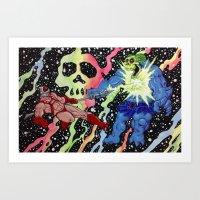 Before Grayskull Art Print