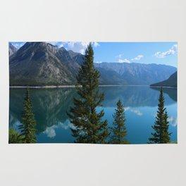 Beautiful Lake Minnewanka Rug