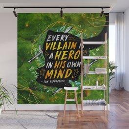 Every villain Wall Mural