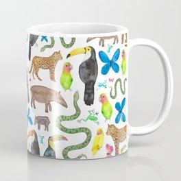 Jungle/Exotic Animals Coffee Mug