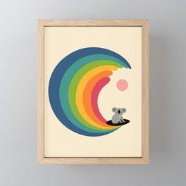 Dream Surfer Framed Mini Art Print