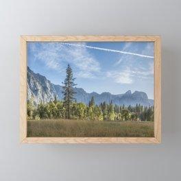 Light Across the Valley Framed Mini Art Print