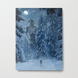 Ithaqua the Windwalker Metal Print