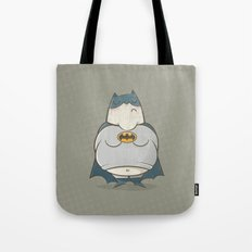 Too Fat To Bat Tote Bag