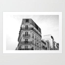 Cityscape Paris Art Print