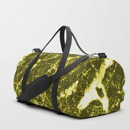 Yellow Marble Duffle Bag