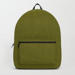 MID CENTURY MODERN . OLIVE LINEN Backpack