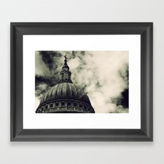 St Paul's Cathedral Framed Art Print
