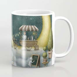Cafe By The Moon Coffee Mug