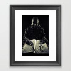 the avenger monk Framed Art Print