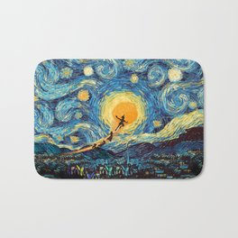 Peter and friends fly in magic night iPhone 4 5 6 7 8, pillow case, mugs and tshirt Bath Mat