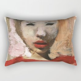 Scarlett/Newspaper Serie Rectangular Pillow