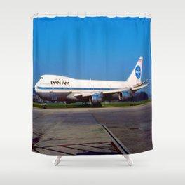 PanAm 747 Clipper Shower Curtain