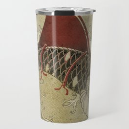 koi Shark Fin 03 Travel Mug