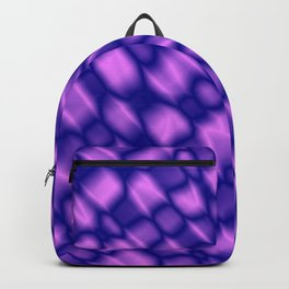 The intersection of poisonous droplets of a eggplant grid of dark cracks on the glass. Backpack
