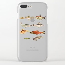 Fishing Line Clear iPhone Case