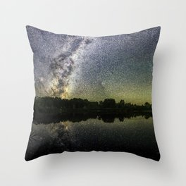 Henry Lake New Zealand Under Southern Hemisphere Skies By Olena Art Throw Pillow