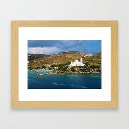 Ios,Kyklades,Greece. Framed Art Print
