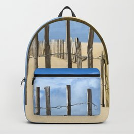 Fence in the sand Backpack